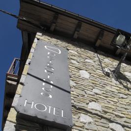 signe Hôtel Pèira Blanca à Garós Vallée d'Aran