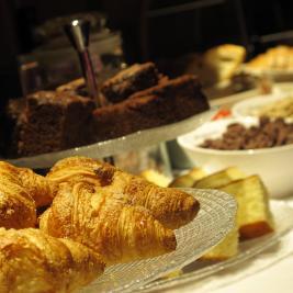 sucreries buffet de petit déjeuner Hôtel Pèira Blanca