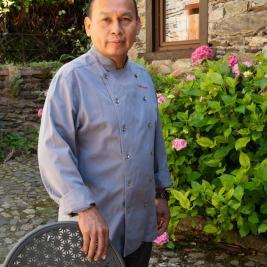 César Mory peruvian chef of jungle origin restaurant Es Arraïtzes